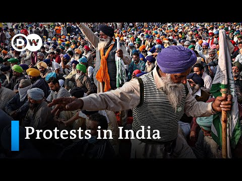 Farmers' protests in India intensify | DW News