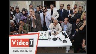 ثوابت وتقاليد حزب الوفد دفعتنا لتكريم السيد البدوى
