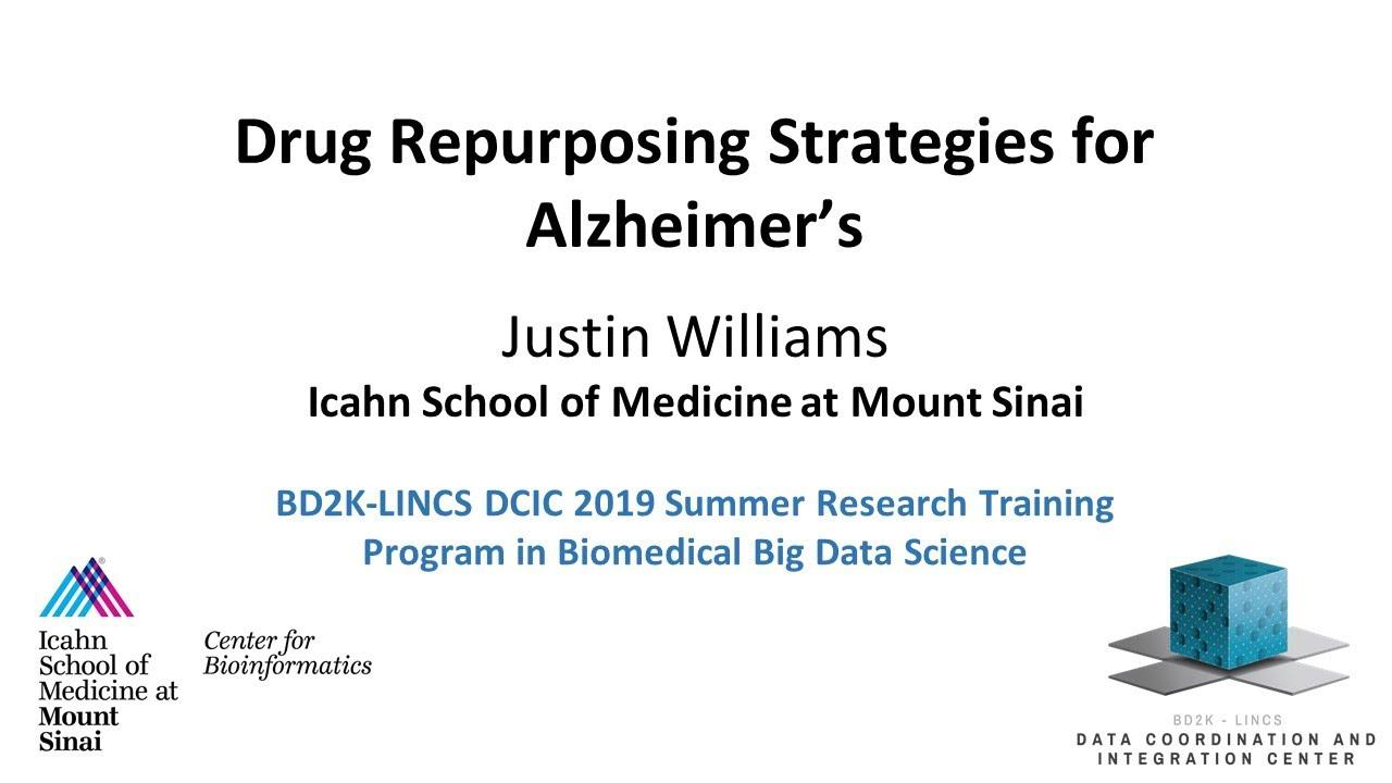 Drug Repurposing Strategies for Alzheimer's Disease