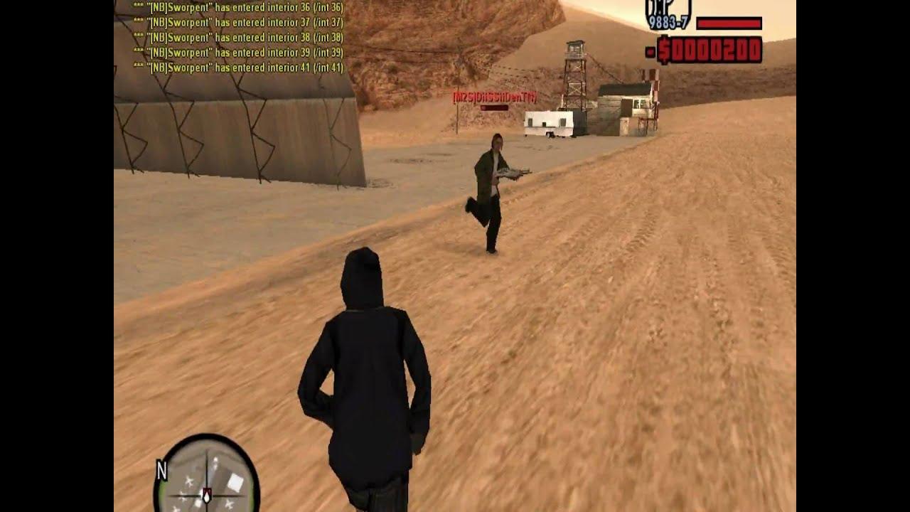 GTA SA MP Crosshair Mod - YouTube