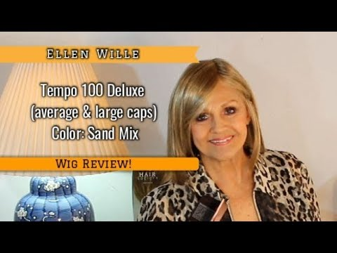Wig Review:  Tempo 100 Deluxe by Ellen Wille in Sand Mix