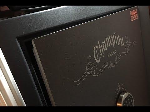New Closet Gun Safe - Champion Model T