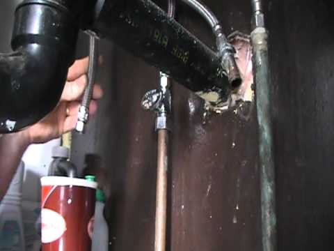 Low water pressure at your faucet Possible places Plumbing