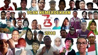 1CAK Kemerdekaan 2018 : Ucapan Selamat HUT Republik Indonesia Ke-73 1CAKer (Jum'at, 17 Agustus 2018)