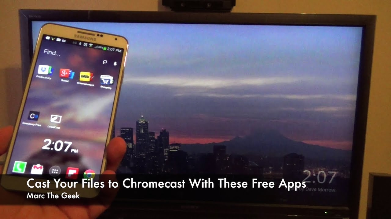 Cast Your Files To Chromecast With These Free Apps