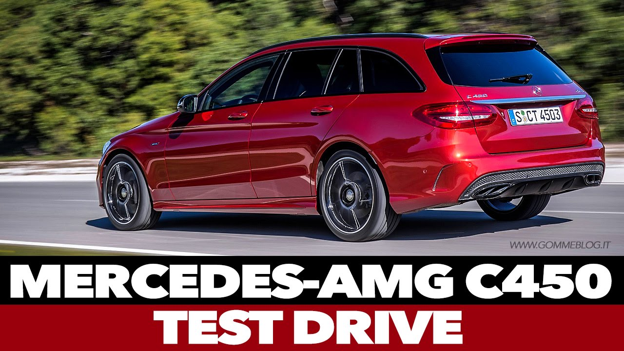 Mercedes C 450 AMG 4MATIC SW Estate   FIRST TEST DRIVE ...
