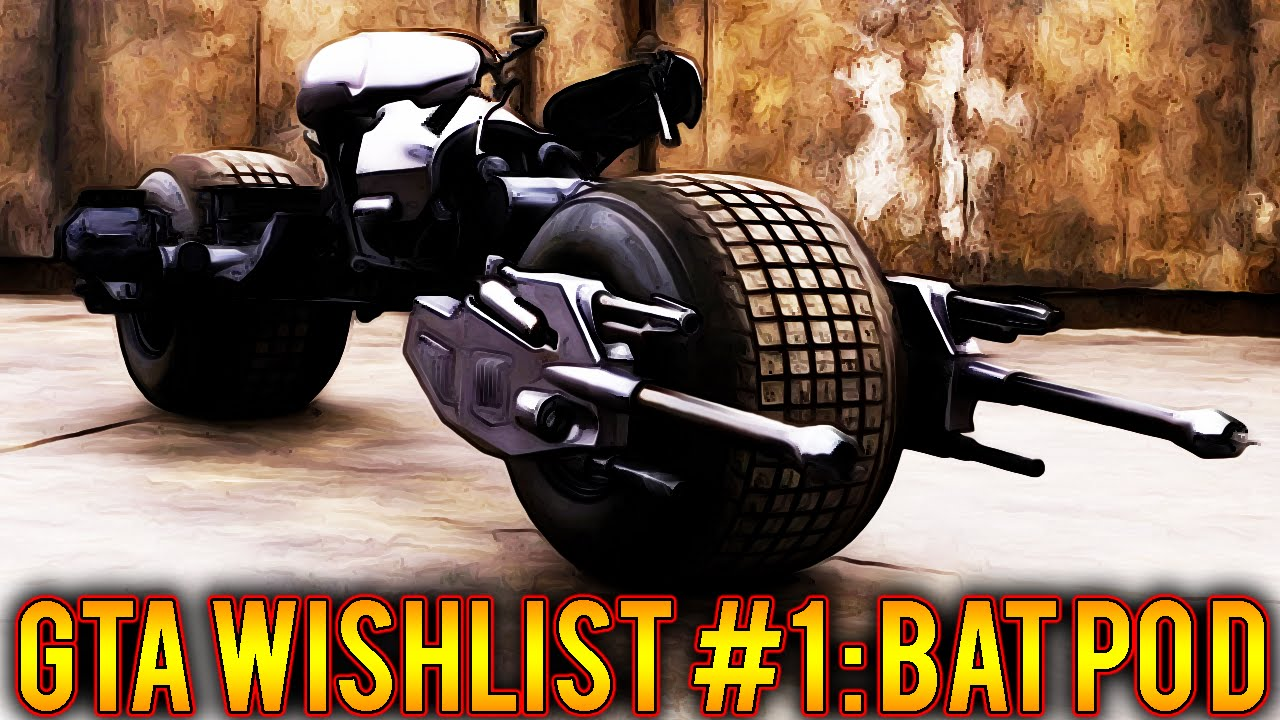 3e0a2de8717 GTA 5 Online Wishlist Series Ep. 1 Bat Pod Motorcycle (GTA 5 DLC Vehicles)  - YouTube
