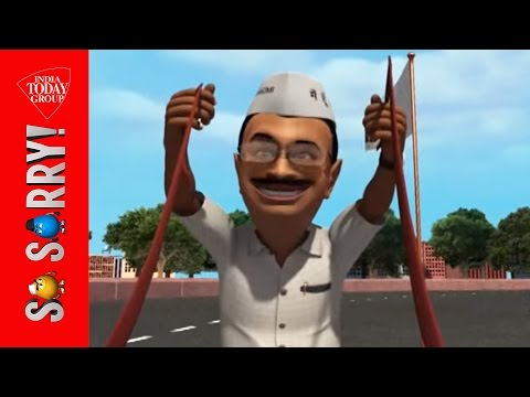 So Sorry: The Great Battle Race for Delhi Polls