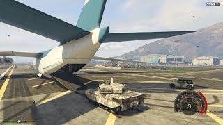 Vận Chuyển Xe Tank Bằng Siêu máy Bay | Khám Phá UFO | ThanhTrungGM