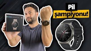 En iddialı akıllı saat Huawei Watch GT 2 Pro inceleme!