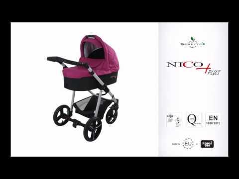 Универсальная коляска Bebetto Nico Plus