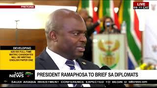 President Ramaphosa to brief SA diplomats