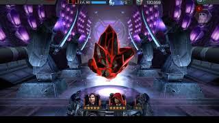 3 Five Star Blade crystals