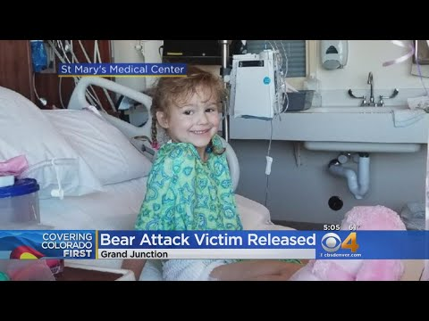 Bear Attack Victim All Smiles As She Gets To Go Home