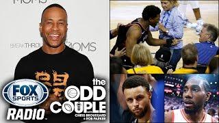DeVon Franklin Disputes Rob Parker Over Steph Curry's Game 3
