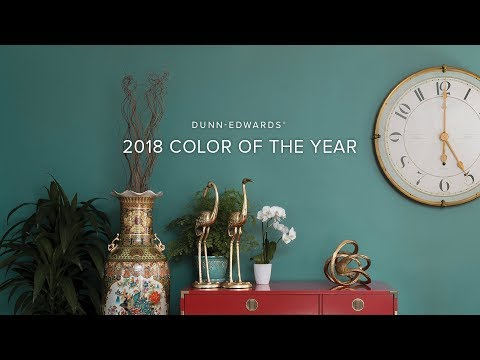 2018 Color Of The Year The Green Hour  Dunn-edwards