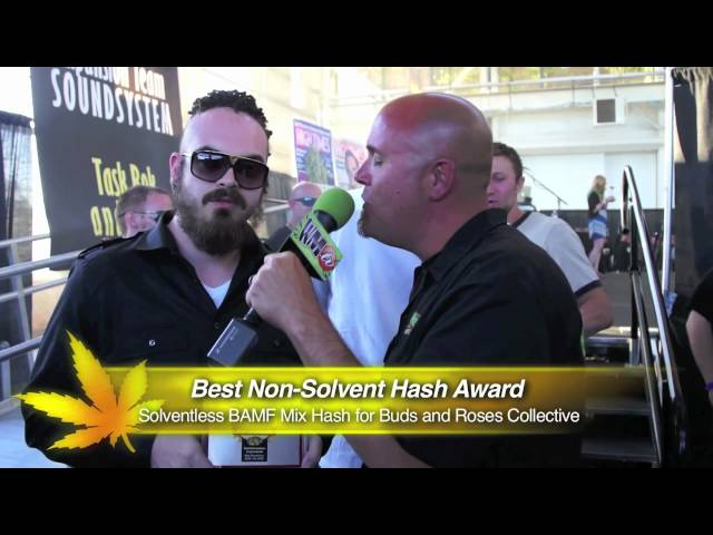 2012 SF HIGH TIMES CUP - Best Solvent-less