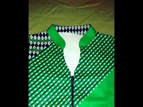 Kurti collar neck design cutting and stitching in hindi