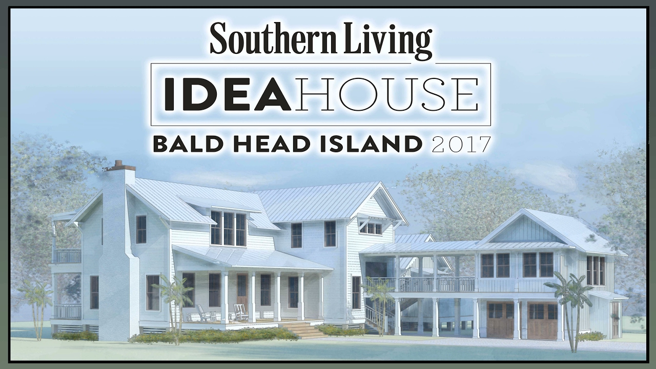 southern living idea house - youtube