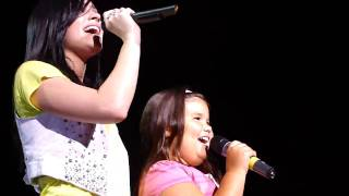 Demi with MADSION! - This is Me - Michigan 8/18