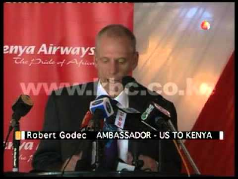 Kenya Airways introduces a new aircraft with a seating capacity of 400