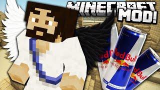 RED COW MOD - RedBull te da asas!! - Minecraft mod Review