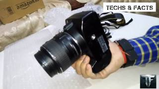 Nikon dslr D3200 unboxing,hands on review, features and specifications in hindi