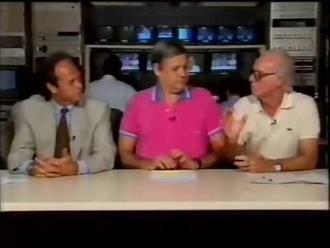 Final da Copa de 1990 Programa Toque de Bola, TV Manchete com Paulo Stein e Zagalo