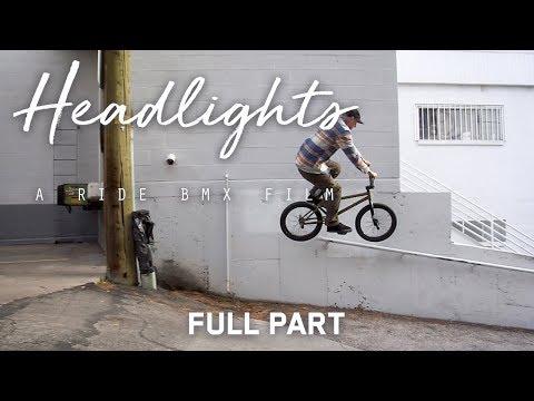 """Headlights: A Ride BMX Film - Shawn """"Elf"""" Walters - Full Part"""