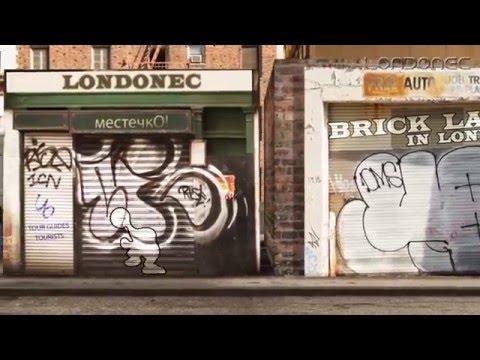 Brick Lane Market In East London, Brick Lane E1. Londonec. местечкО