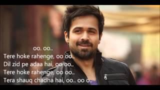 Tere Ho Ke Rahenge Lyrics | Arijit Singh | Raja Natwarlal | Yuvan Shankar Raja