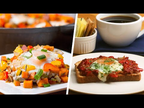 5 Low-Calorie Breakfasts To Start Your Day Right • Tasty
