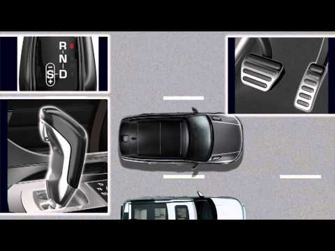 How to - Range Rover Sport (2013) - Vehicle feature: Sportshift Selector