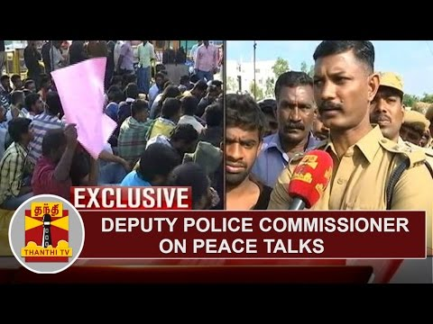 EXCLUSIVE | Deputy Police Commissioner A. Mayilvaganan speaks about Peace Talks on Protest
