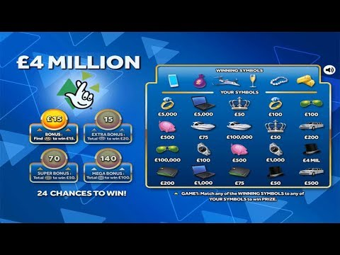 Playing National Lottery £10 Scratchcards (Live Stream)