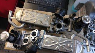 Vw Sharan Egr valve removing jak wyjąć zawór EGR 2.0Tdi CFFB