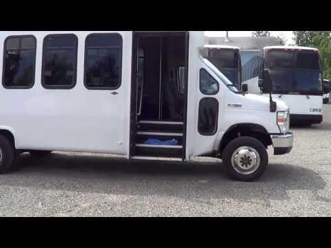 Northwest Bus Sales – 2008 Ford Diamond 4X4 25 Passenger Shuttle For Sale – S38091