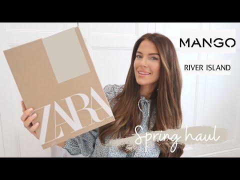 MANGO ZARA AND RIVER ISLAND MINI HAUL | FASHION HAUL | SPRING 2021