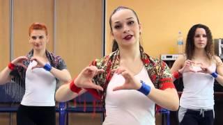 Русь танцевальная 2016 обучающее видео - урок 6