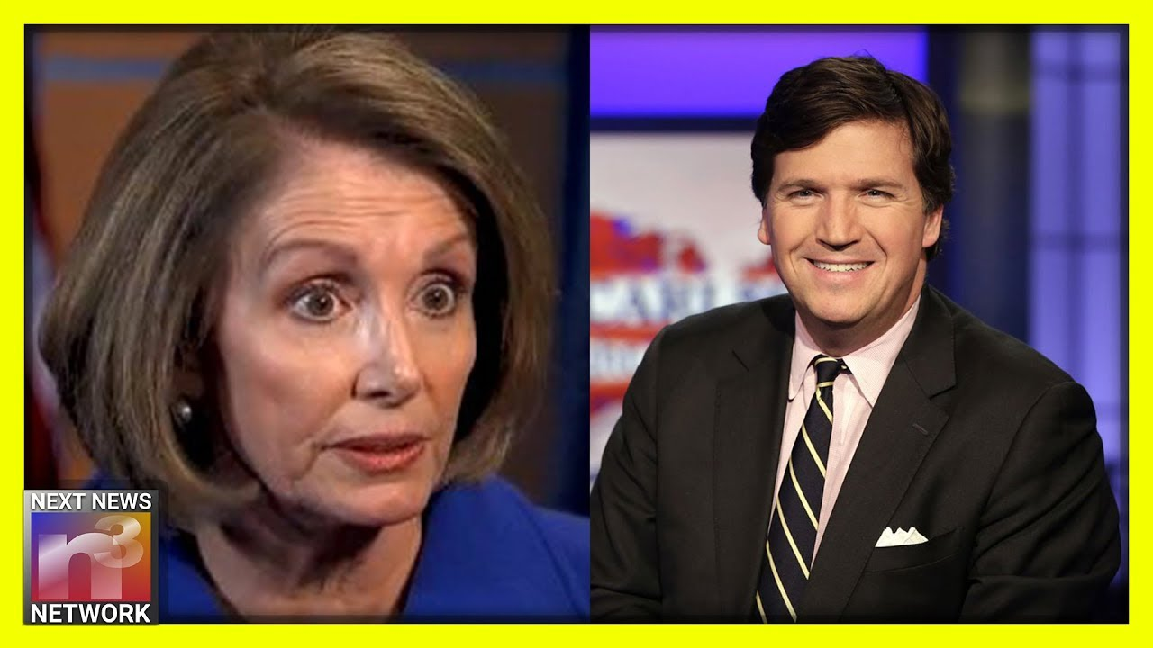 MUST SEE! Tucker Comes Up with Most EPIC Comeback to Pelosi's Body Shaming Comment