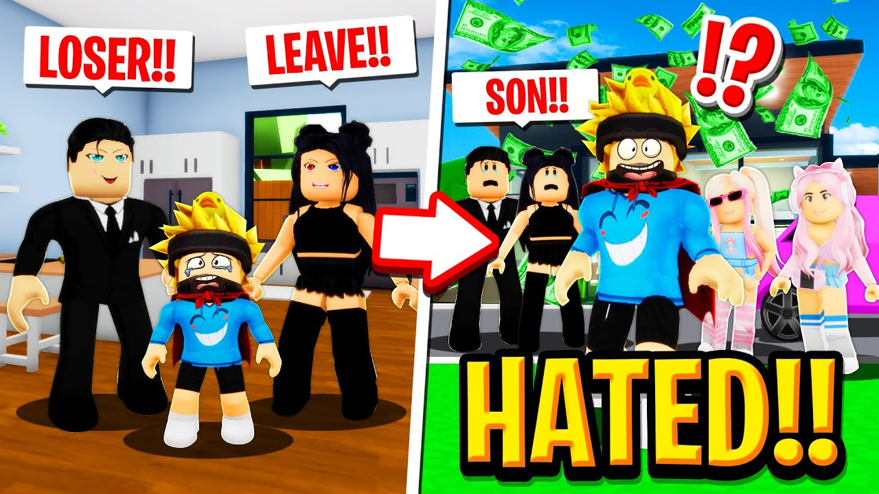 Download The HATED CHILD wins the LOTTERY in Roblox BROOKHAVEN RP!!