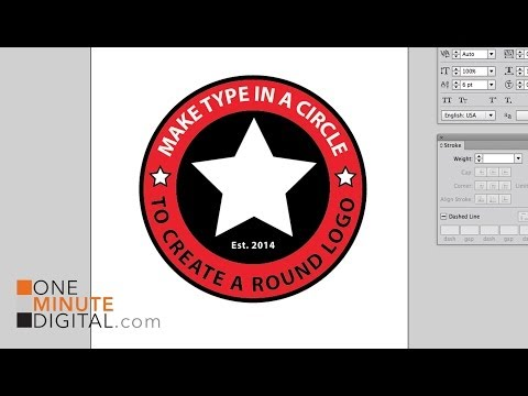 How to Type in a Circle in a PowerPoint