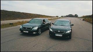 Камри (3.5)  vs  Lexus LS (430)  !!!   БАТЛ  !!!