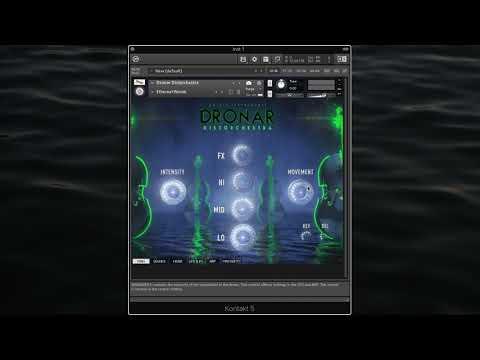 Gothic Instruments DRONAR Distorchestra Walkthrough