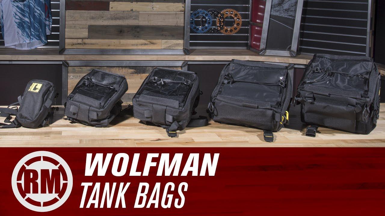 Wolfman Blackhawk Tank Bag V1 7 | Parts & Accessories