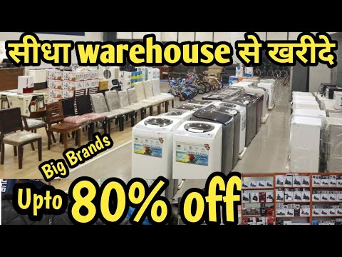 Electronic Items Warehouse Upto 80% Off On Smartphones Laptops Microwaves Speakers AC Furniture