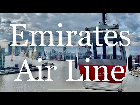 Emirates Air Line | London's cable cars 🚡
