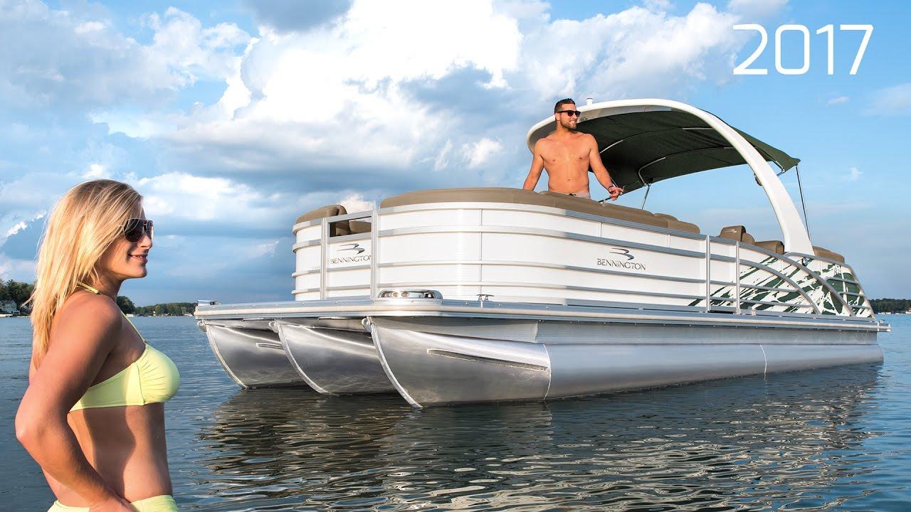 2017 Bennington R Series Pontoon Boats