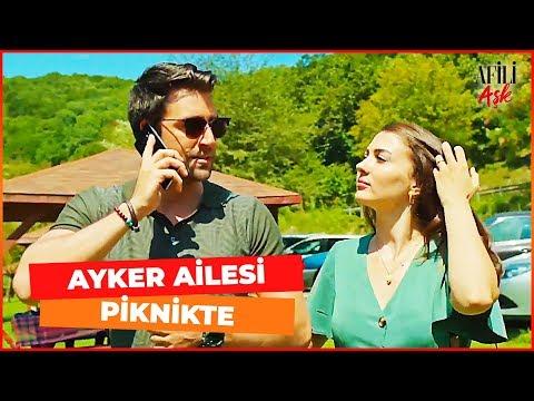 Ayşe ve Kerem'in Ailesi Piknikte - Afili Aşk 11. Bölüm