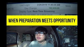 Motivation : When Preparation Meets Opportunity